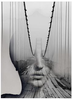Photography merging portraiture and landscapes by Antonio Mora