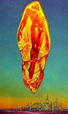 creamurjeans:The Silkie, 1973 ~ Bruce Pennington
