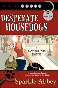 Sparkle Abbey is the pseudonym of writing team Marly Lee Woods and Anita Carter. Together, they write the bestselling Pampered Pet Mysteries.