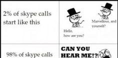 How Skype Conversation held at Begining?