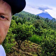Volcano Mt Agung sti