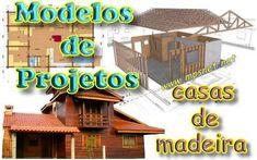 Modelos de Projetos de Casas de Madeira, Veja em detalhes no site http://www.mpsnet.net/1/235.html