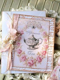 Make your own invites for your tea party...noellegarrettdesigns.com