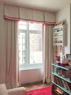 valance and curtains set box pleat | Home box pleated valance Design Ideas, Pictures, Remodel and Decor