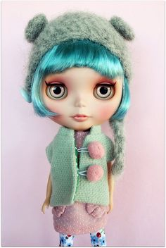 I want this Blythe doll so we can have matching hair!