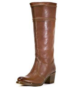 Frye Women's Jane 14L Stitch Boot - Redwood
