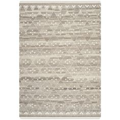 Safavieh Hand-woven Natural Kilim Natural/ Ivory Wool Rug (5' x 8') | Overstock.com Shopping - The Best Deals on 5x8 - 6x9 Rugs