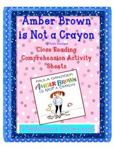 amber brown not crayon book report