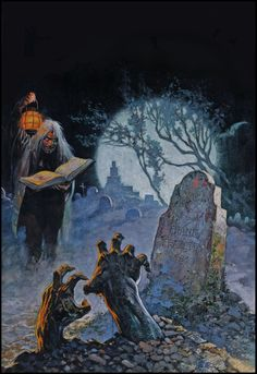 Frank Frazetta — original painting — 1964. Tales from the Crypt