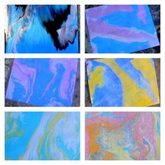 Suminagashi: The Art of Japanese Paper Marbling... this looks like a fun afternoon project for my kids.