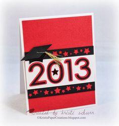 Graduation Card http://kristispapercreations.blogspot.com/2013/05/graduation-card.html