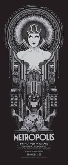 Metropolis, Fritz Lang.
