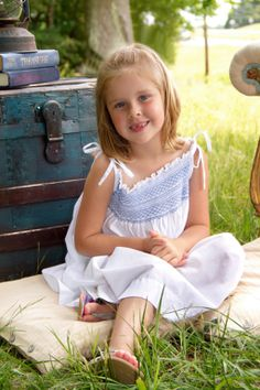 """Sweet Little Lady"" Portrait Creations Professional Outdoor Family Photography in Charlotte, NC."
