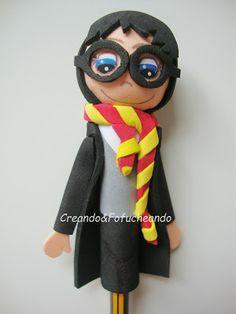 Fofulápiz Harry Potter-CreandoyFofucheando