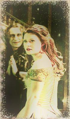 OUAT's Belle & Rumplestiltskin (Beauty & the Beast) Fan made pic
