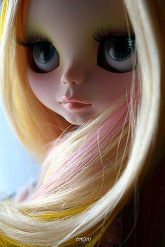 Your eyes by erregiro, via Flickr nice hair!! `b<3