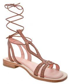 Maumero sandals worn by Megan Batoon