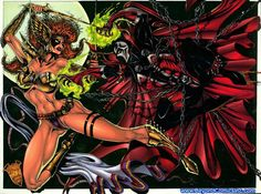 Warrior: Spawn: a superhero from hell who is being hunted by Angela Thanos Hulk, Hulk Marvel, Spiderman, Ego The Living Planet, Spawn Comics, Dc Comics, Comic Book Superheroes, Comic Books, Todd Mcfarlane
