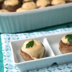 Stuffed Mushrooms Easy Recipe with sauteed mushrooms and garlic. This easy appetizer recipe will have you making stuffed mushrooms in no time. Get your grocery list out and get ready to make these delicious stuffed mushrooms, and make sure to save a couple for yourself!