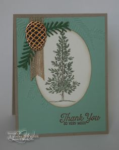 Lovely Pine Thank You