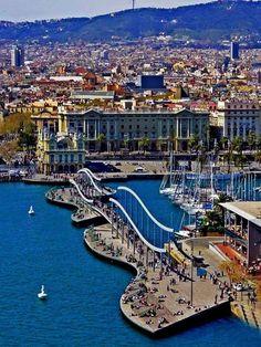 Barcelona, Spain - come quicker please.
