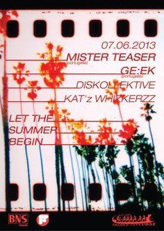 Mister Teaser & Geek @ Bagdad Cafe