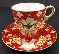 Antique Guthritz Limoges Demitasse Cup & Saucer