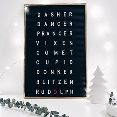 It's no lie that I have a huge love for letter boards. Check out these fun Chris… It's no lie that I have a huge love for letter boards. Check out these fun Christmas quotes for your letter board. They're sure to make everyone smile! Word Board, Quote Board, Message Board, Christmas Signs, Christmas Fun, Cute Christmas Quotes, Christmas Letters, Magical Christmas, Christmas Pajamas