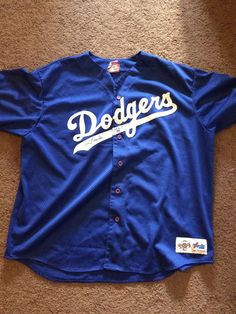 Tommy Lasorda autograph, Signed LA Dodgers Blue Jersey Majestic Authentic in | eBay