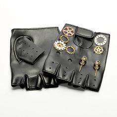 Steampunk Gears Gloves