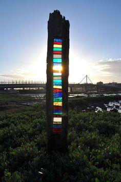 Louise V Durham: Louise V Durham's bespoke stained glass artworks