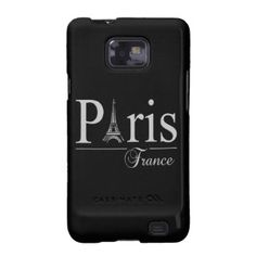 Paris France Samsung case, customise Galaxy S2 Cover