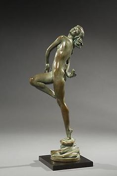 Frishmuth Bronze | harriet w frishmuth american 1880 1980 laughing waters 1929 bronze ...
