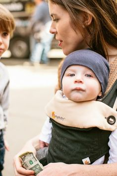 A CUP OF JO: Ergo's new baby carrier