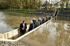 "There is a ""Moses Bridge"" located in the Netherlands"