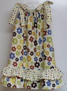 Pillowcase dress tutorial
