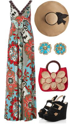 """Garden Party"" by qtpiekelso on Polyvore"