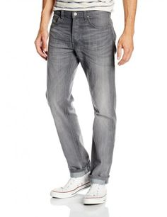 Lee Daren Regular Slim Fit Denim Jeans Storm Grey