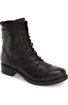 KBR Lace-Up Boot