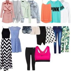 Must Haves Spring 2015 by malicefashionworld on Polyvore featuring moda, Oasis, Lee, H&M, Karen Millen, NIKE, maurices and VILA