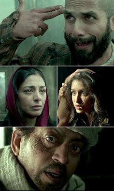 Haider. Its an epic must watch and what performances. Especially shahid and tabu. I was left speechless.