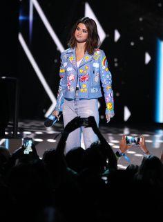 Selena Gomez News — April 27: Selena onstage at We Day California in...