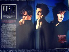 The Jesus And Mary Chain. Blitz magazine issue 57, 1987.
