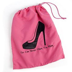 "Miamica Shoe Bag Sole Mate""You Can Never Have Too Many"""