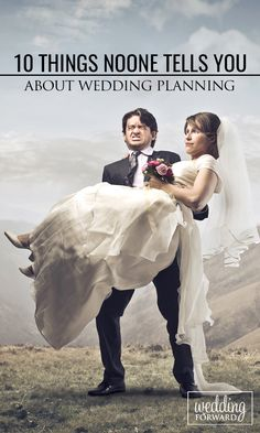 10 Things Noone Tells You About Wedding Planning ❤ Wedding planning can be full of surprises and while not all of them are good, there are ways you can be one step ahead. Here you'll find #wedding planning advice that no one ever tells you about. http://www.weddingforward.com/wedding-planning-things-noone-tells-you/ #bride #weddingplanning