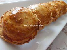 Para las cenas de picoteo del fin de semana os dejo esta propuesta. Realmente son empanadillas porque están hechas con obleas de empanadi...