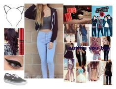 """Shopping with 5sos"" by infinitygangster ❤ liked on Polyvore featuring moda, Vans, LORAC y Topshop"