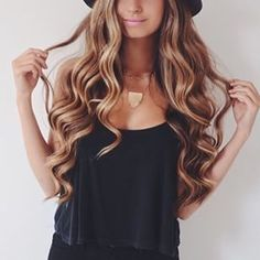 Beautiful Hair! Get the look with REMY CLIPS quality Clip-in, Halo hair, and single weft extensions.  www.remyclips.com