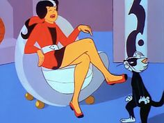 "Sebastian and his mistress, Alexandra, ""Josie and the Pussycats,"" [pr]. Sexy Cartoons, Animated Cartoons, Alexandra Cabot, Josie And The Pussycats, Soundtrack Music, Childhood Days, Weekend Style, A Cartoon, Disney Animation"