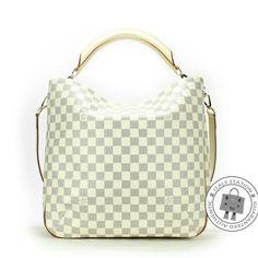Louis Vuitton White Damier Azur Soffi Canvas N41216 Shoulder Bag from Discountpluss for $2,600 on Square Market